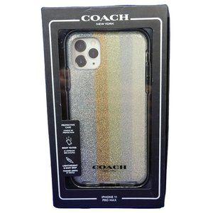 "Coach Case for iPhone 11 Pro Max 6.5"" - Glitter"